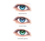 Acuvue 2 Colours Enhancers eyes